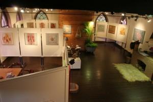 overzichtsfoto van de galerie